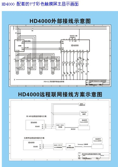 hd4000n变频恒压供水/补水电脑控制器系列